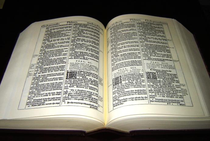 King James Bible Facsimile - 2 - Copy